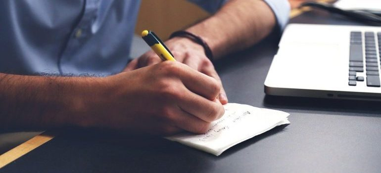 writing a plan